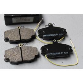 Jeu de plaquettes de frein MINTEX 1155 où SPARCO 451 pour 306 S16 BV5