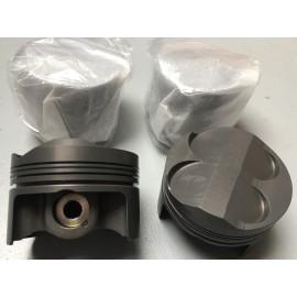 Jeu de 4 pistons Ø78.7mm TU5JP4 type C2 R2 Max pour bielles 133.5mm