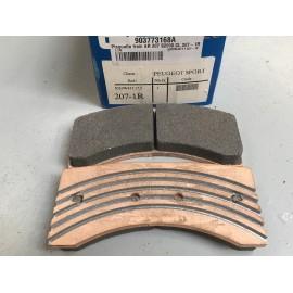 Jeu de plaquettes de frein AV / AR CL 207 S2000