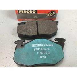 Jeu de plaquettes de frein AV FERODO DS2000 pour 106 Rallye / 205 GTI 1600