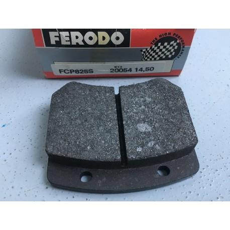 Jeu de plaquettes de frein AR FERODO DS2000