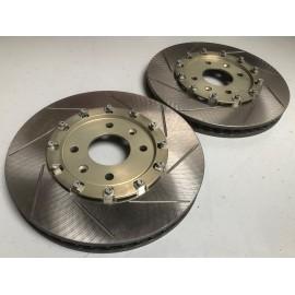 Jeu de disques de frein AV Ø304 x 30mm sur bols alu