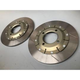 Jeu de disques de frein AR Ø280mm 106 / 306 Maxi