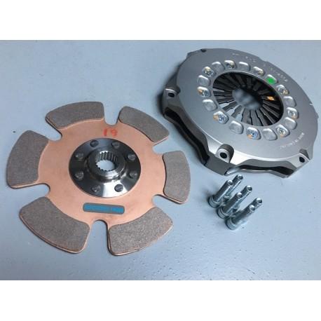 Kit mécanisme d'embrayage Ø184mm + disque Ø21 - 18 cannelures