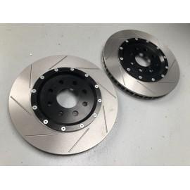 Jeu de disques de frein AV Ø315 x 28mm sur bols alu