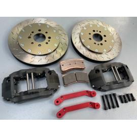 Kit freins AV ALCON 4 pistons - disques Ø330mm ep:30mm - plaquettes CL RCR