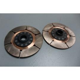 Jeu de disques d'embrayage CP6414 Ø140mm avec moyeu 0.87 / 20 cannelures