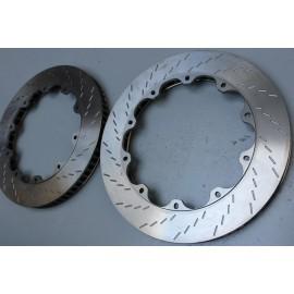 Jeu de disques de frein AV BREMBO 306 Maxi V2 Ø370 x 32mm