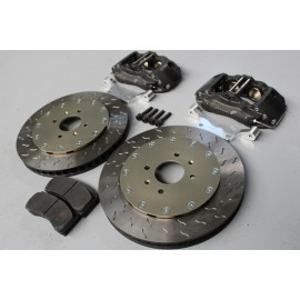 Kit freins AV ALCON 4 pistons - disques Ø330mm ep:30mm - plaquettes Mintex F4R