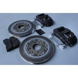 Kit freins AV ALCON 4 pistons - disques Ø285mm ep:26mm - plaquettes Mintex F4R